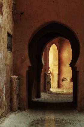 medina in meknes