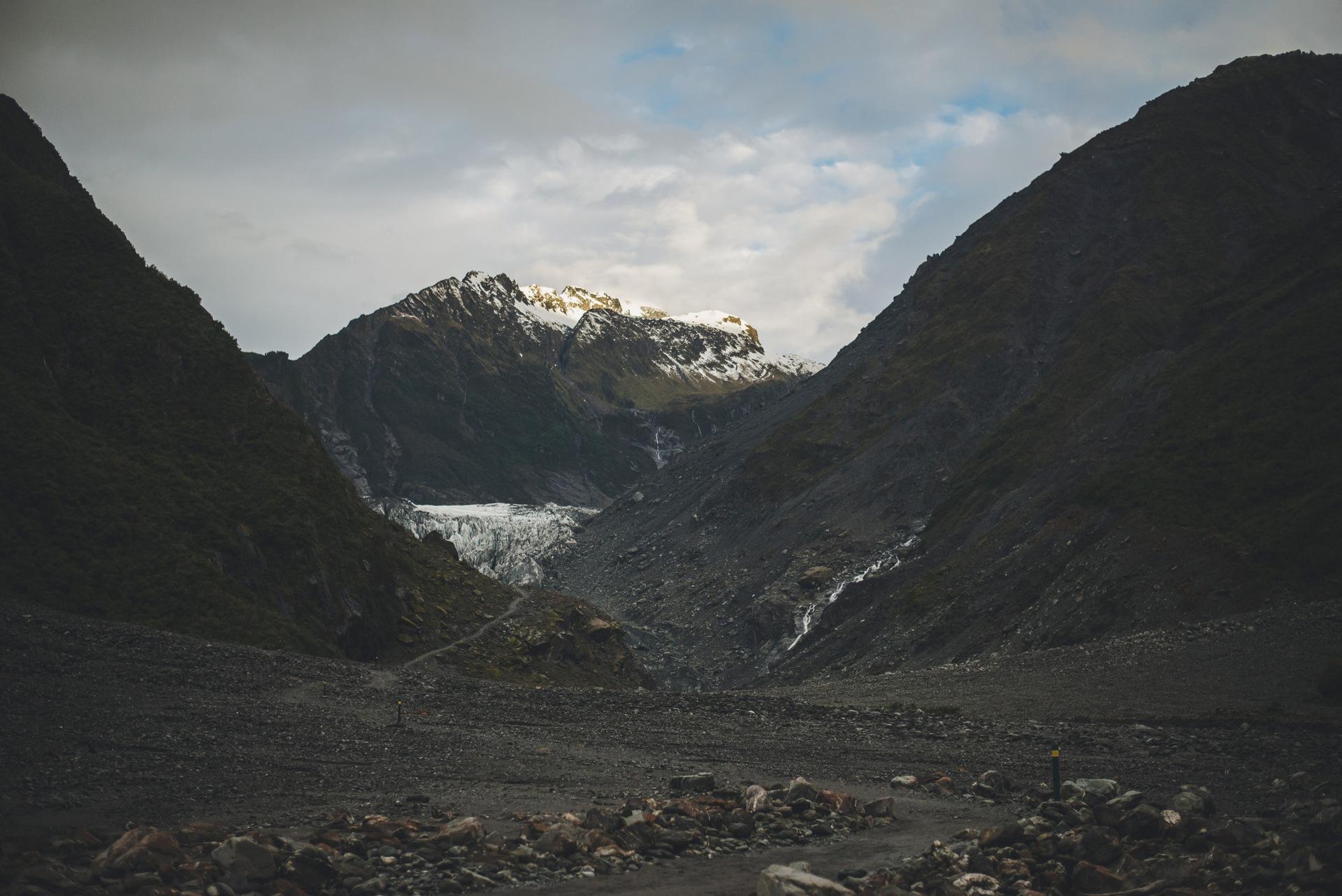 lodowiec foxa nowa zelandia