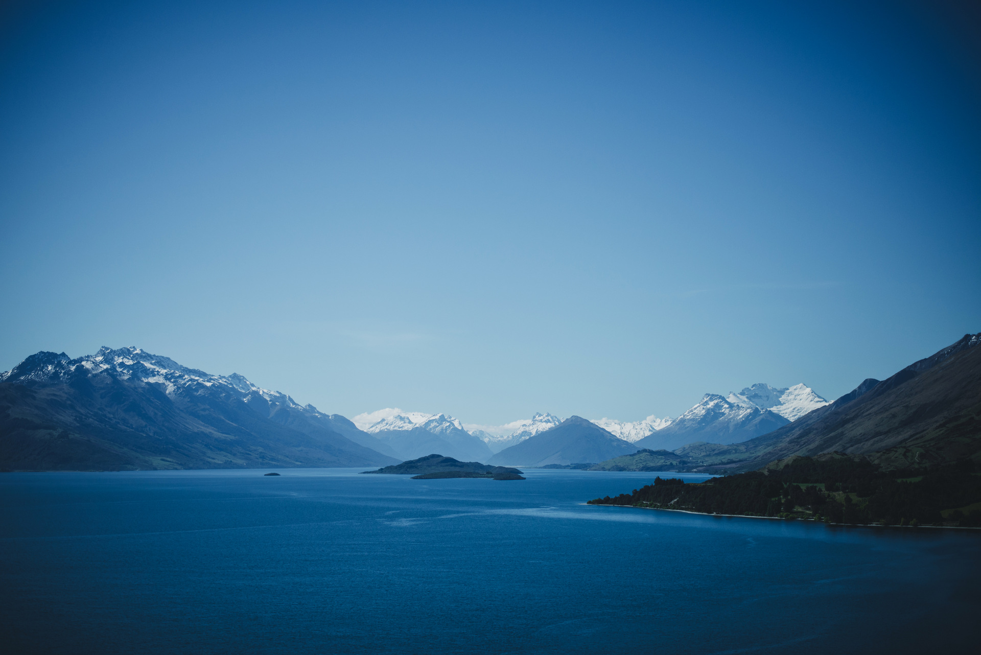 droga do glenorchy z queenstown