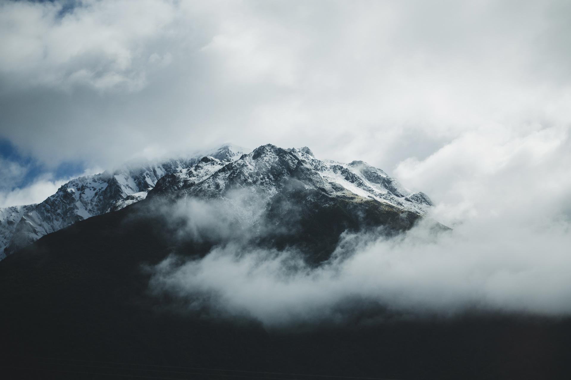 nowa zelandia alpy południowe