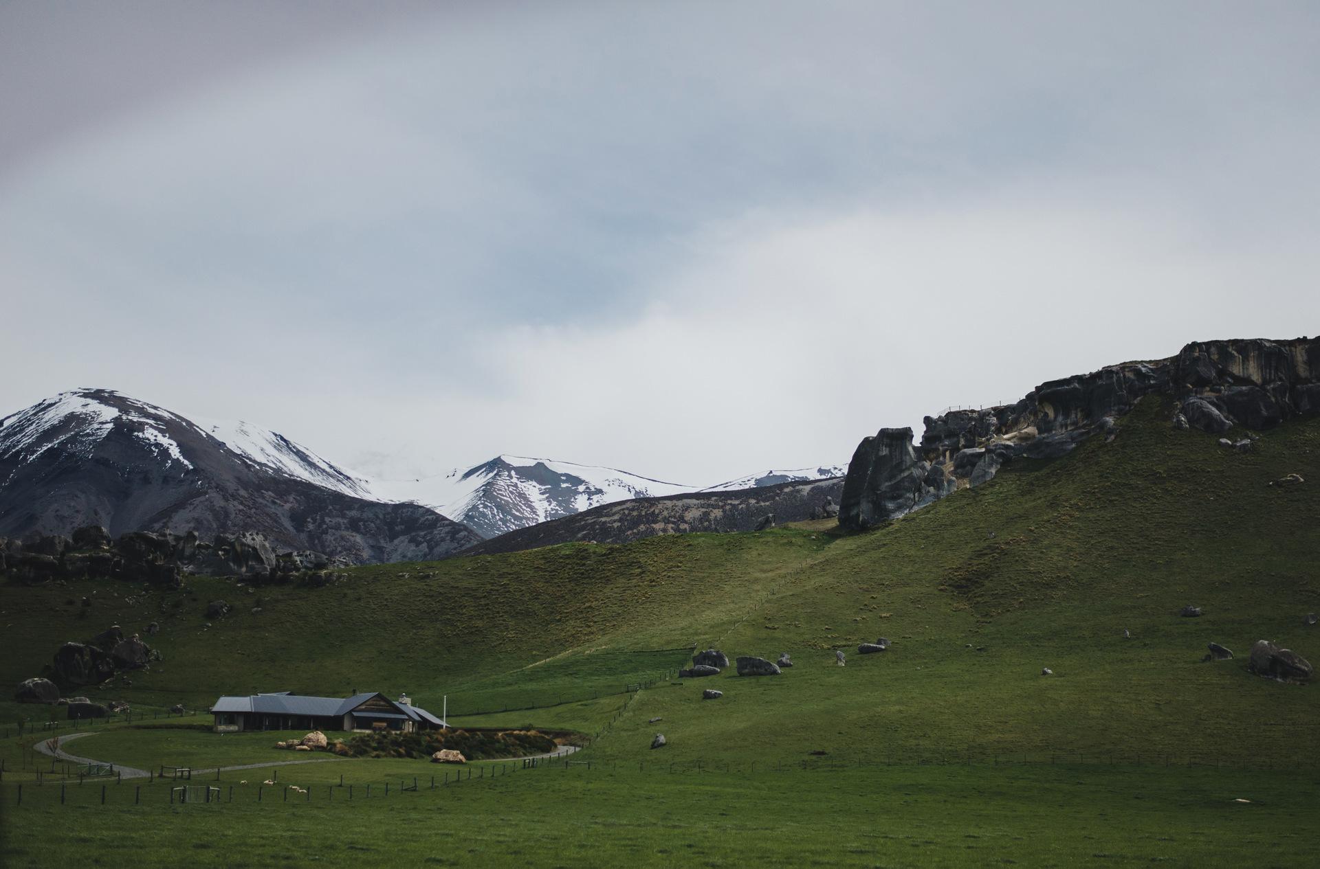 alpy południowe nowa zelandia