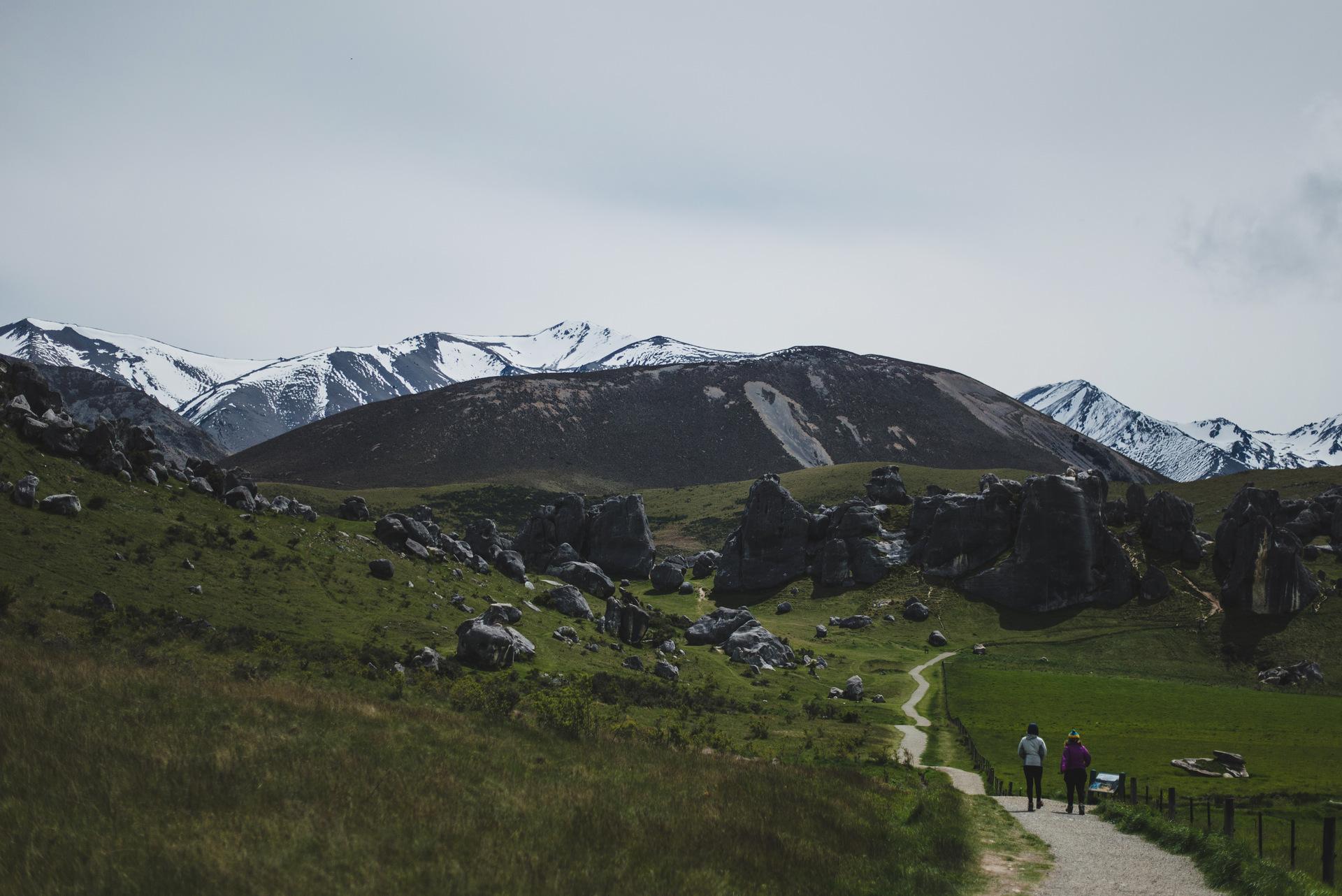 castle hill nowa zelandia