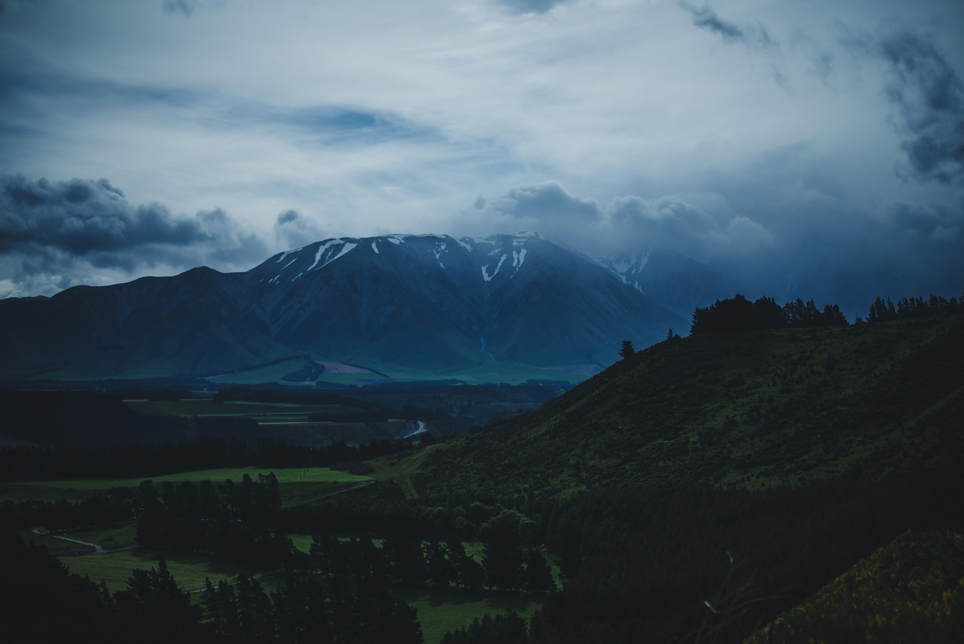 nowa zelandia krajobrazy