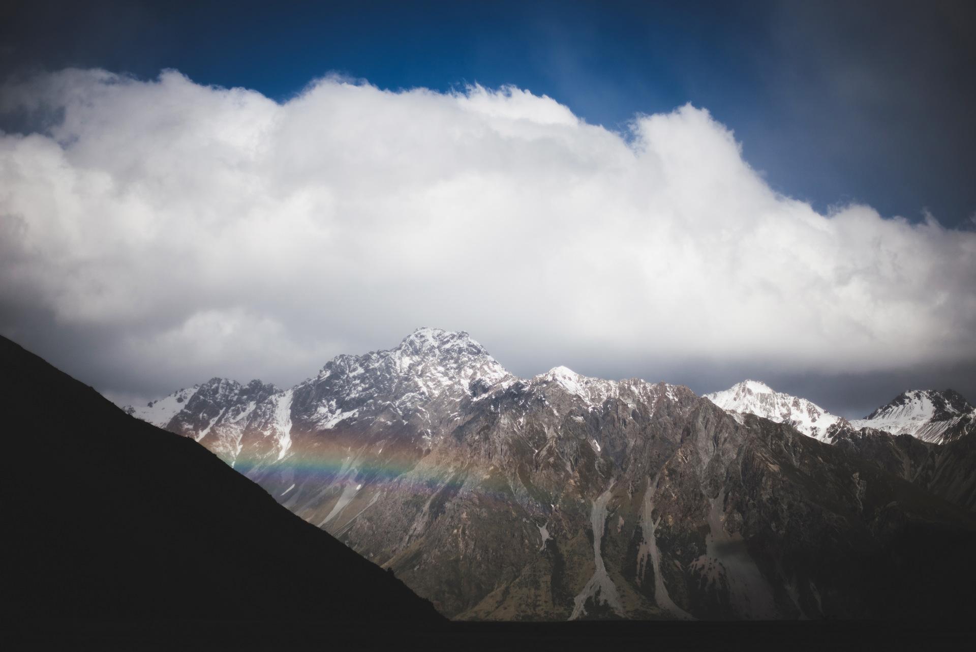 nowa zelandia góry