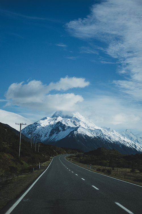 góra cooka nowa zelandia