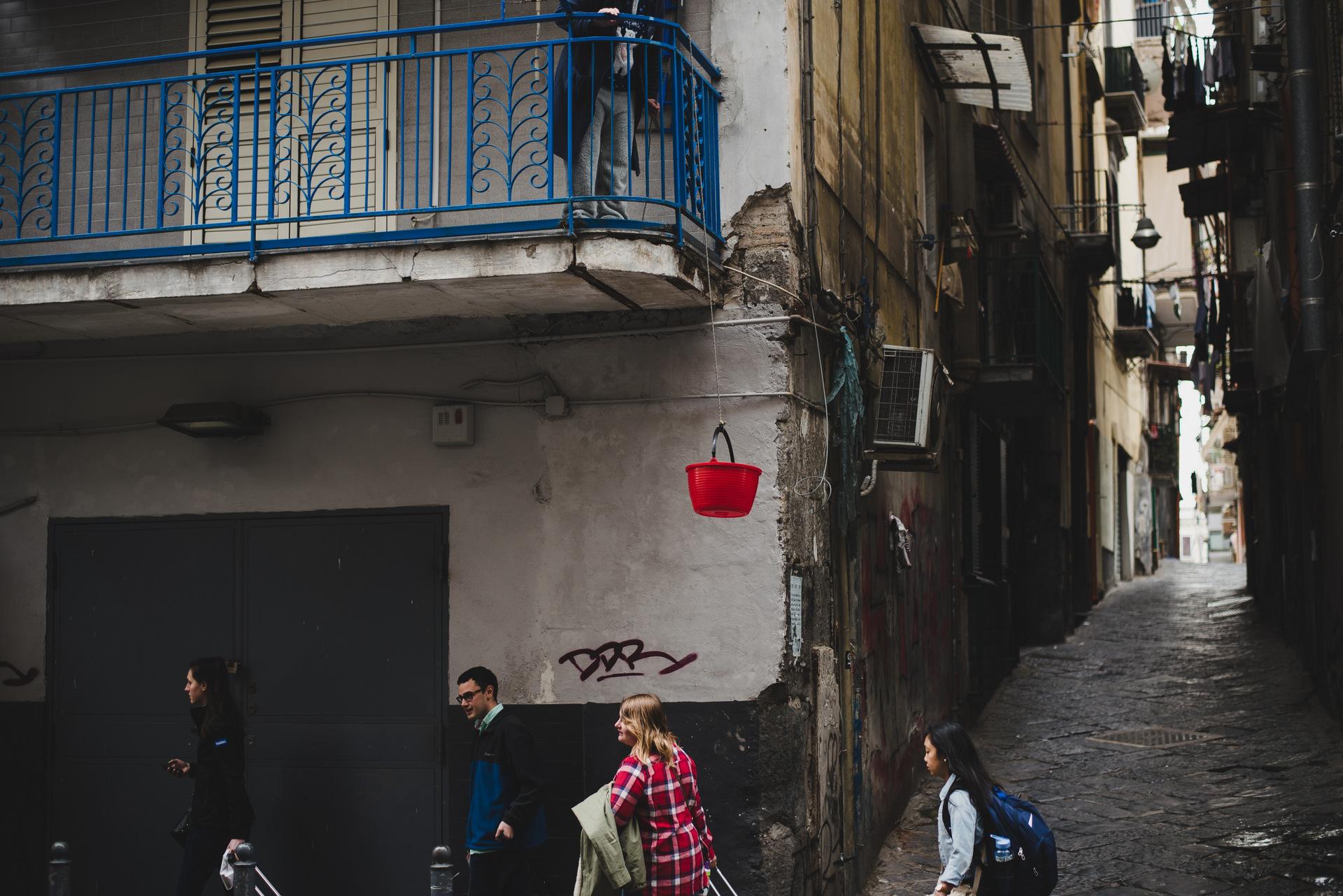 uliczki neapolu