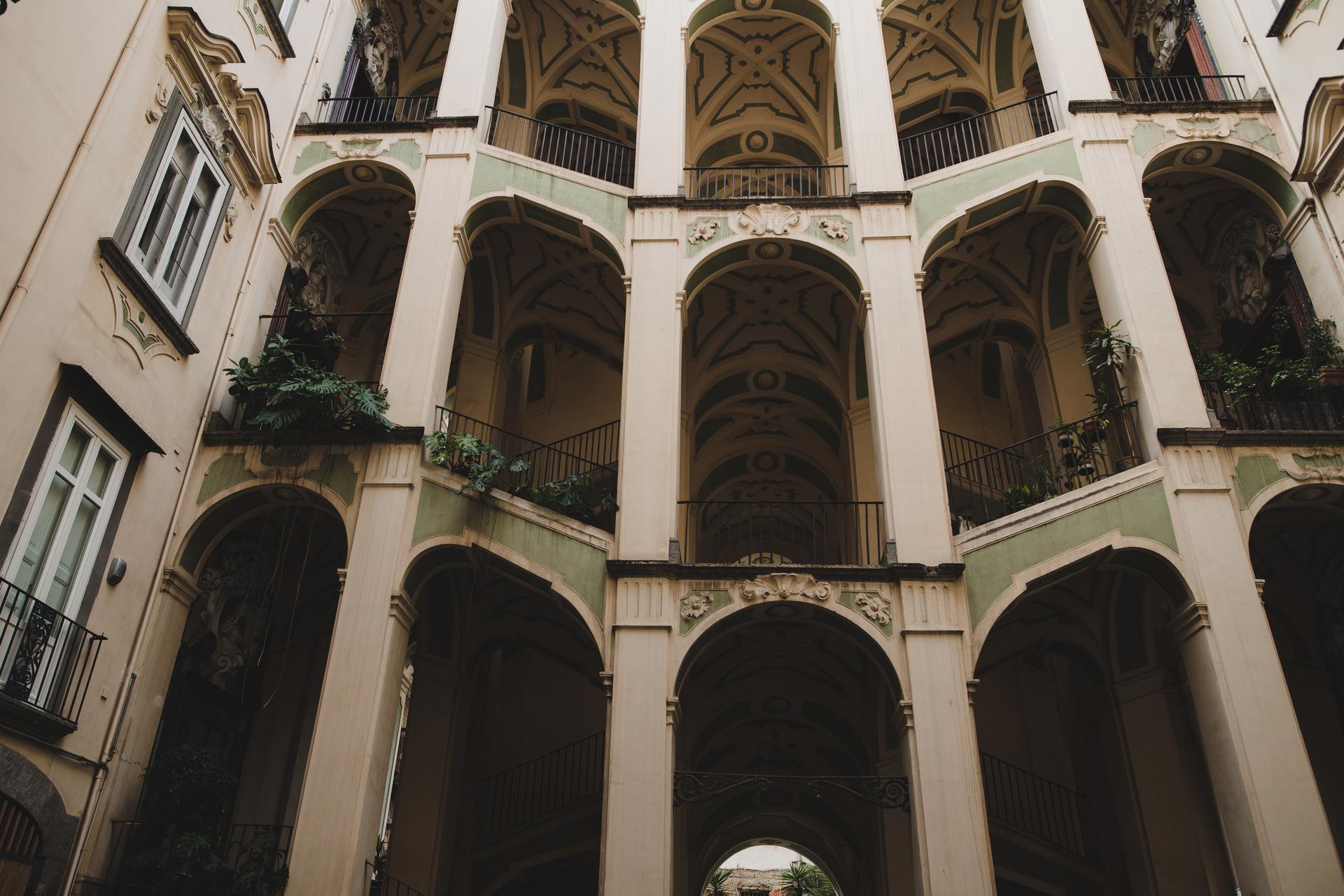 Palazzo Spagnolo neapol
