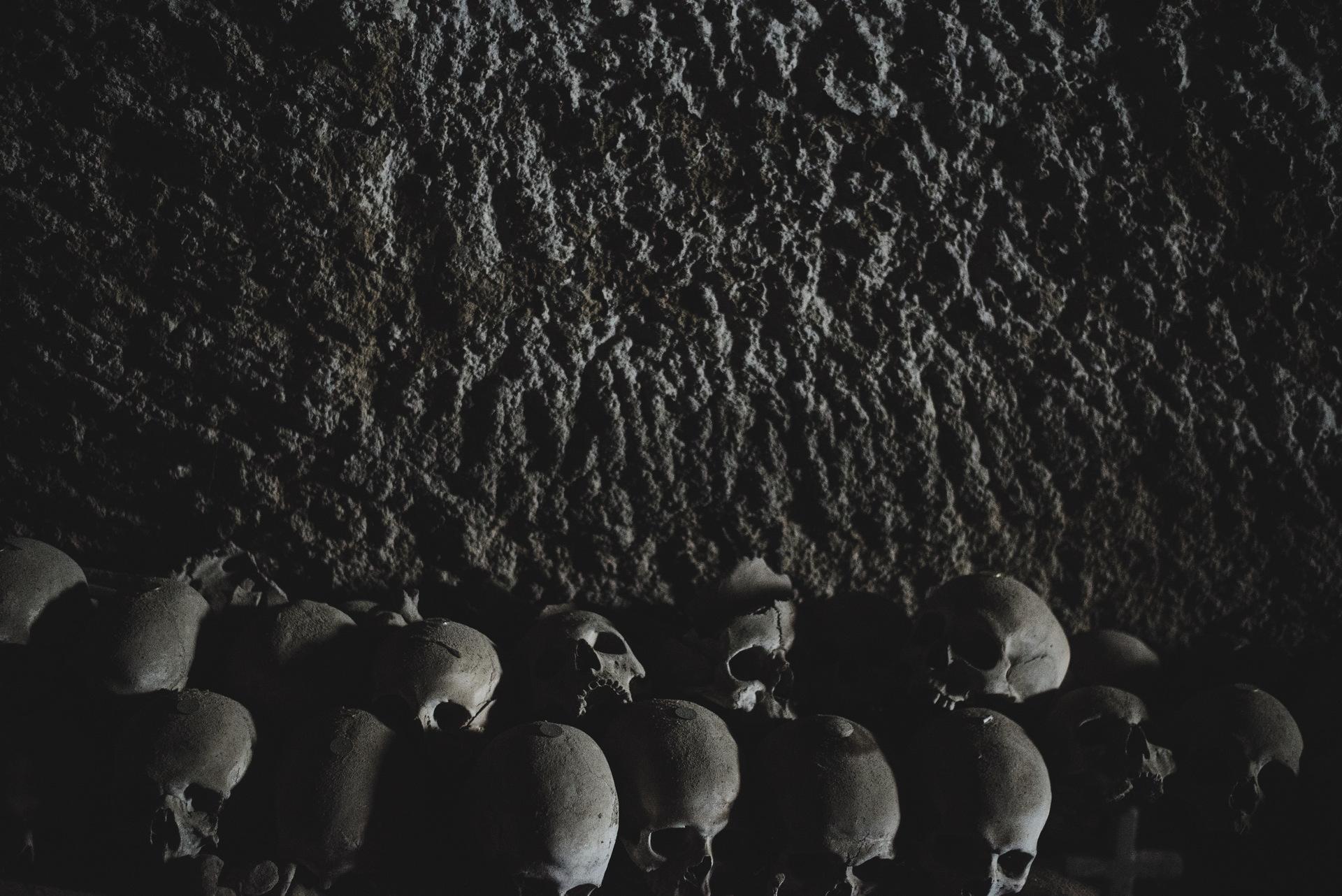 cmentarz czaszek neapol