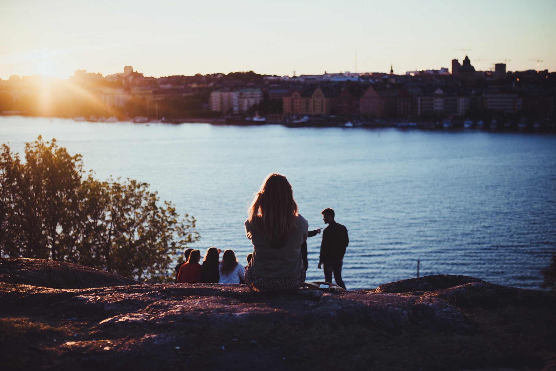 zachód słońca Sztokholm