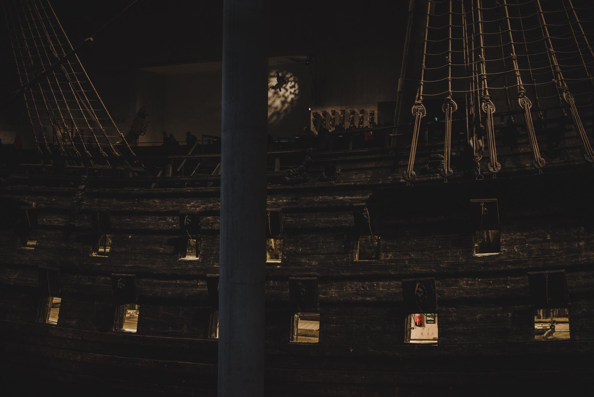 statek vasa sztokholm museum
