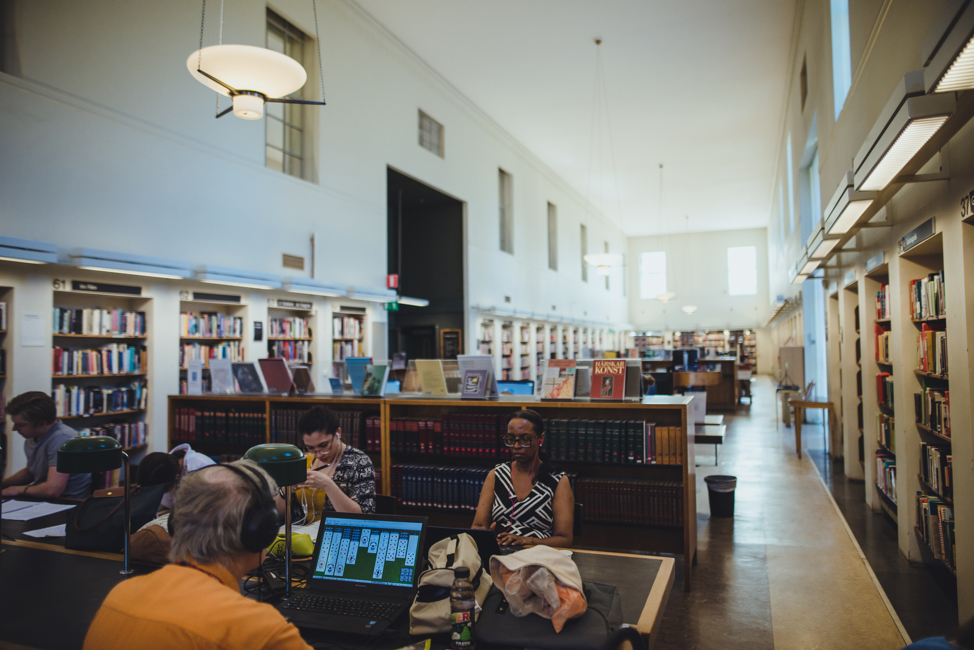 biblioteka w sztokholmie