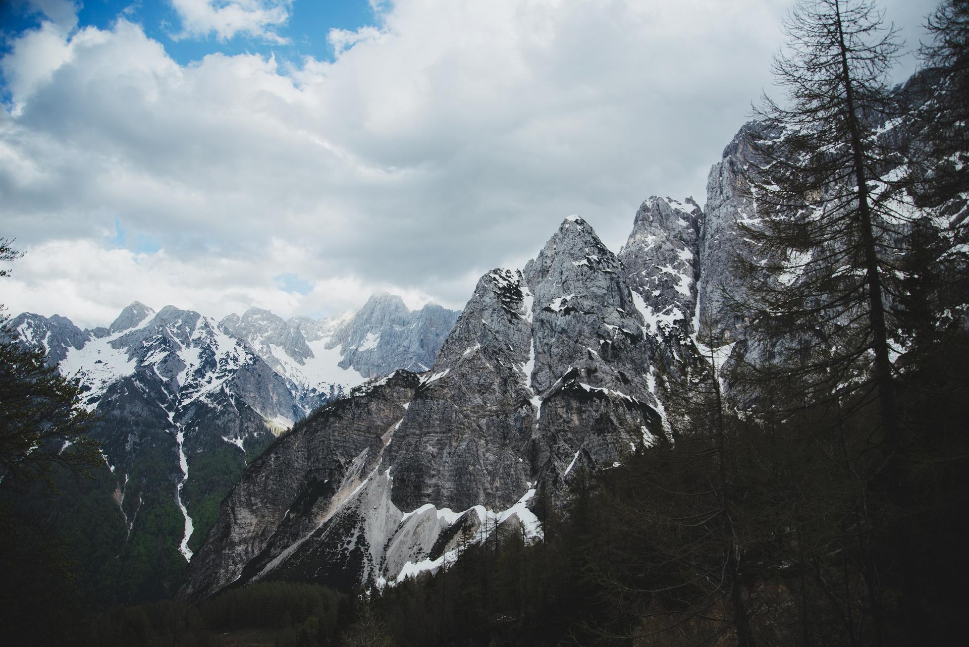 przełęcz vrsić słowenia