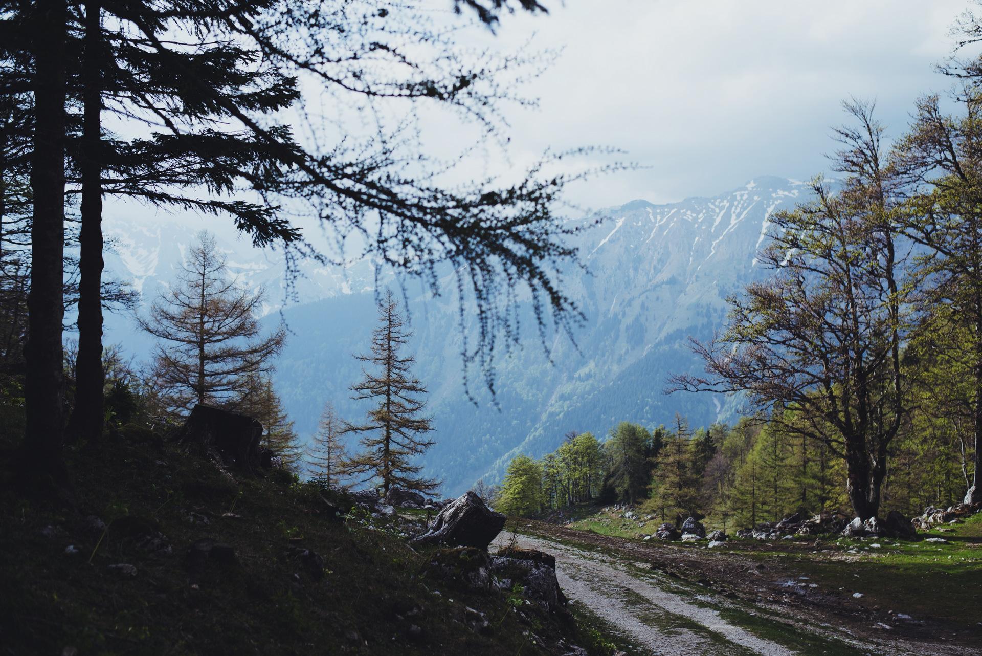 szlaki na słowenii