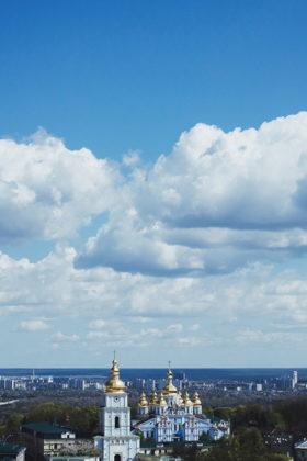 kijów widok na miasto
