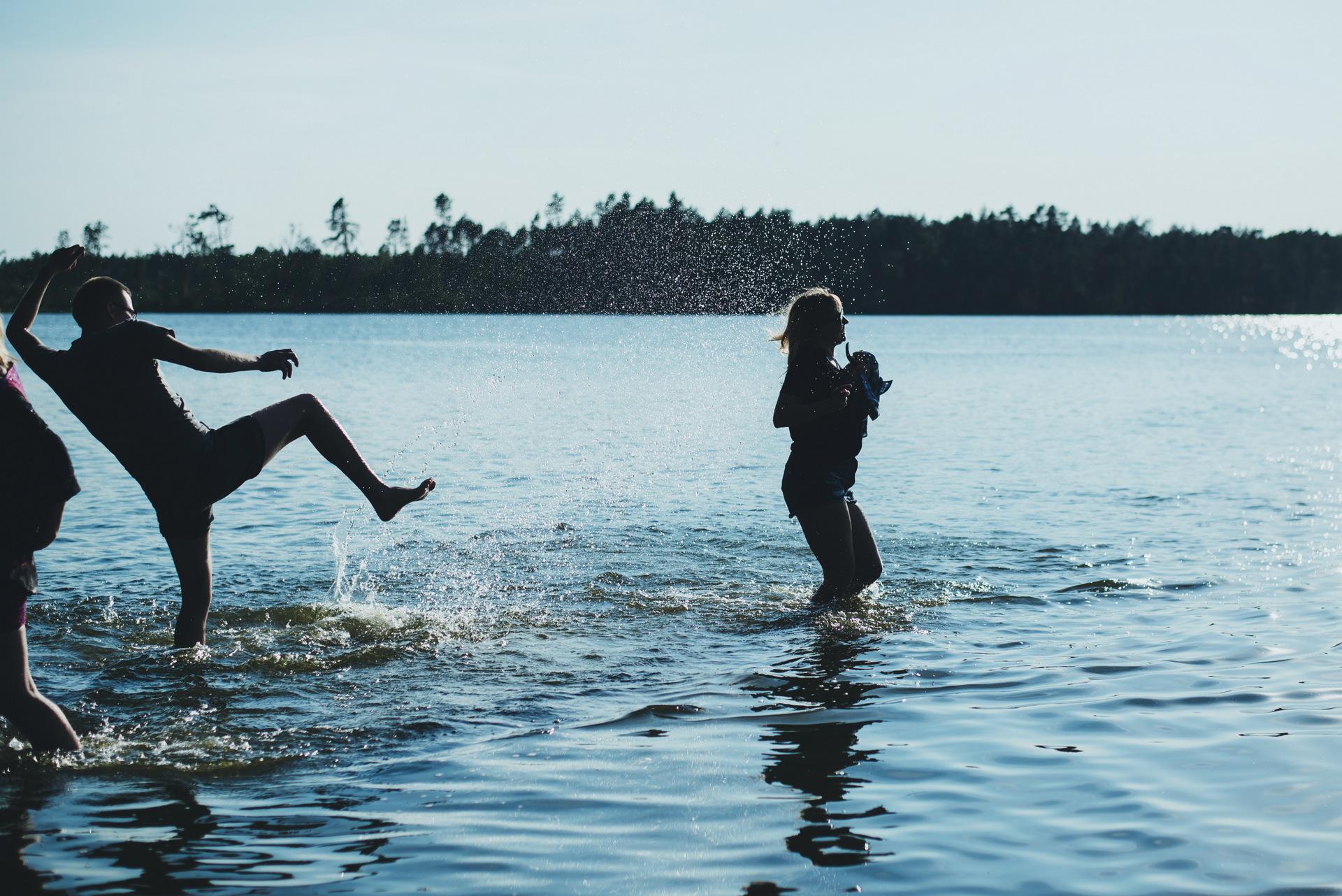 bory tucholskie jezioro