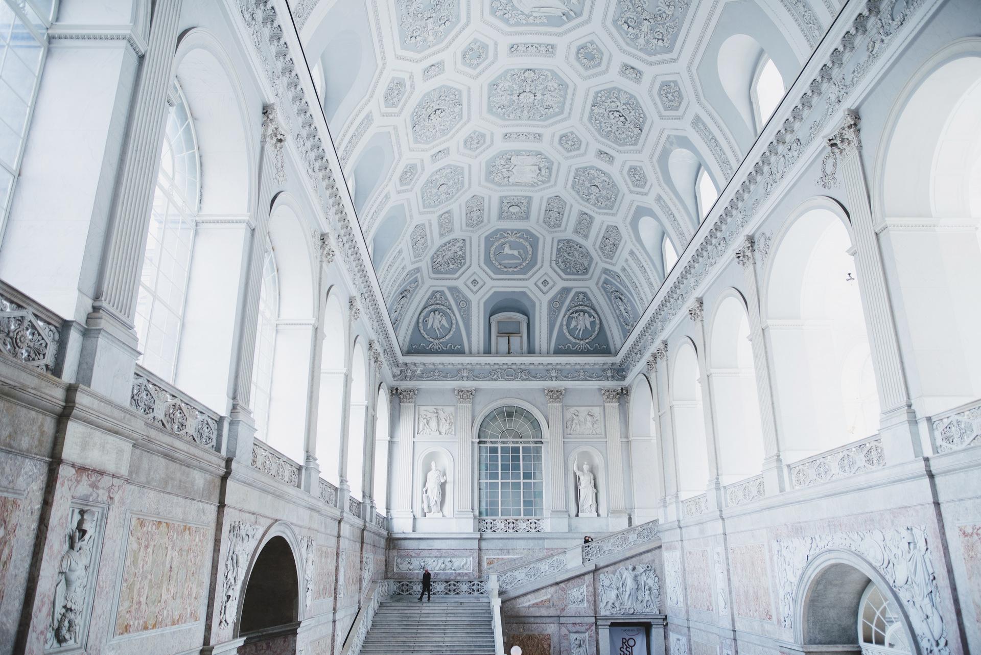 palazzo realne neapol klatka schodowa