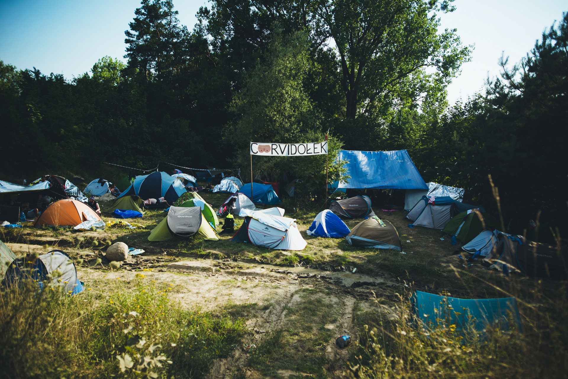 pole namiotowe na polandrock