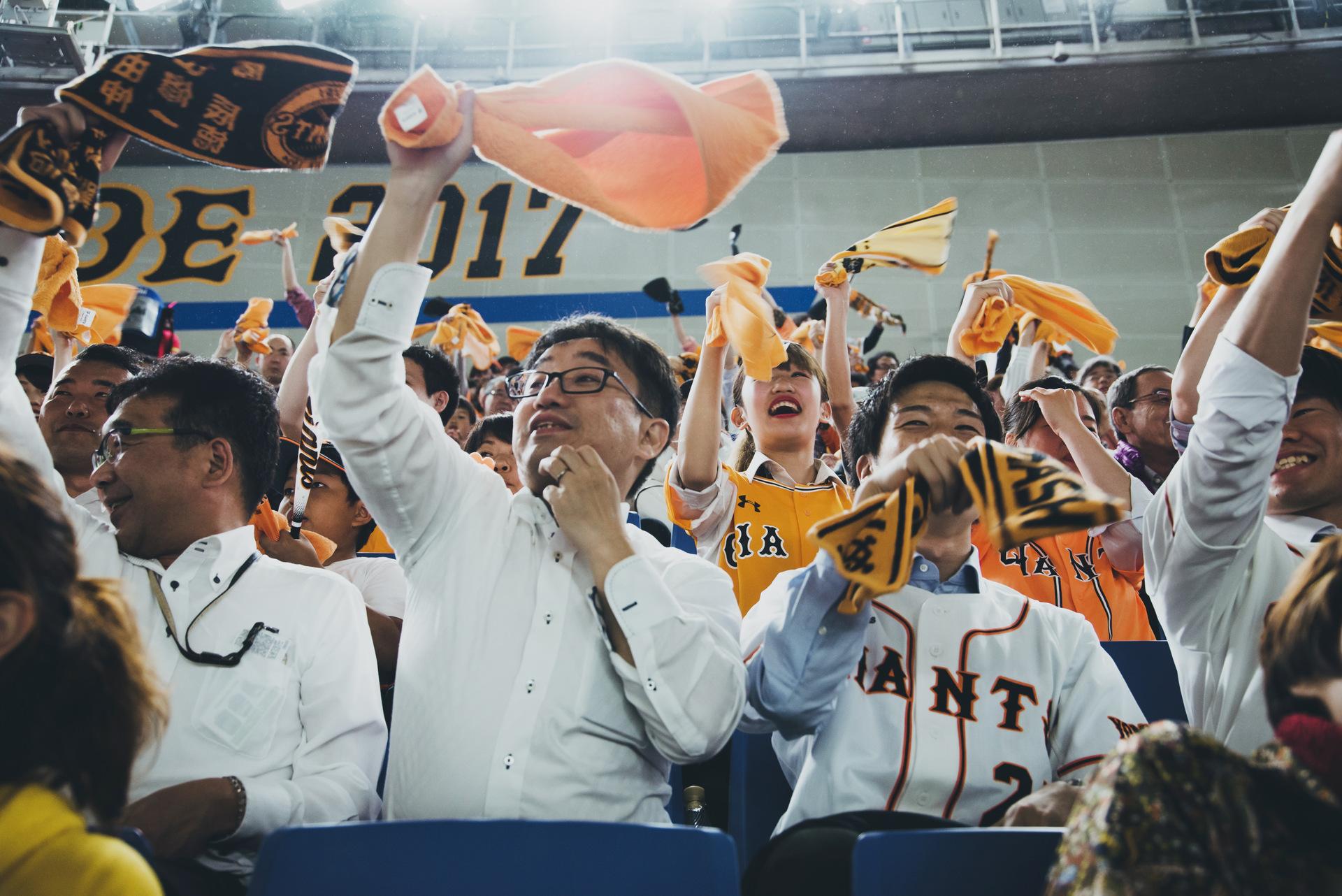 japonia po pracy mecz baseballa