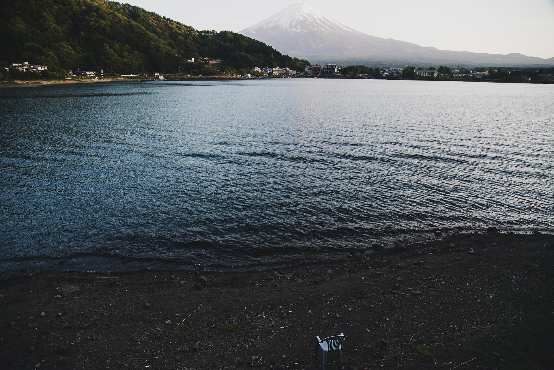 góra fuji z kawaguchiko
