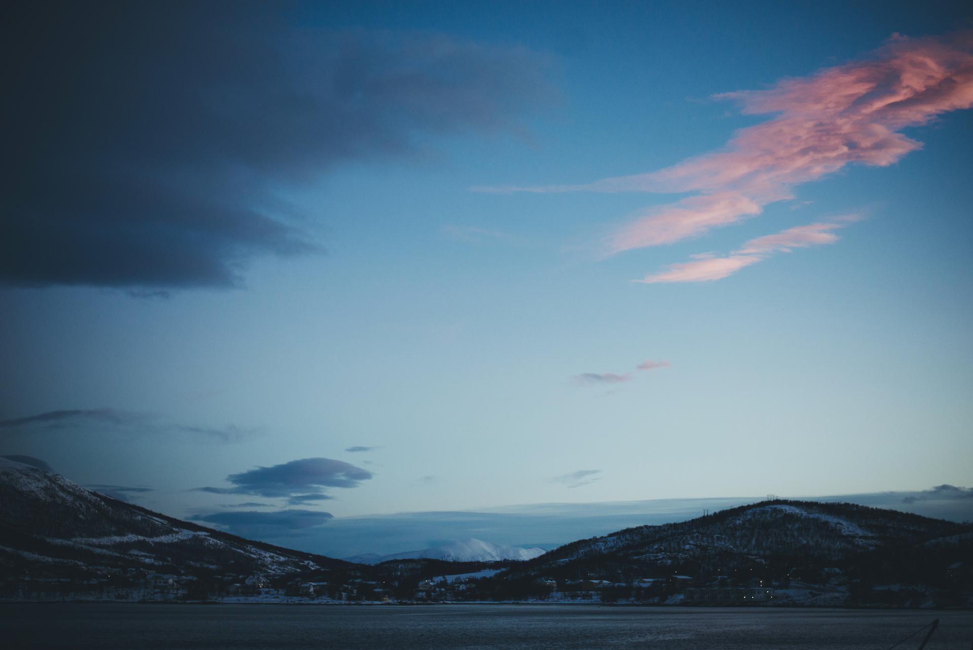 noc polarna norwegia