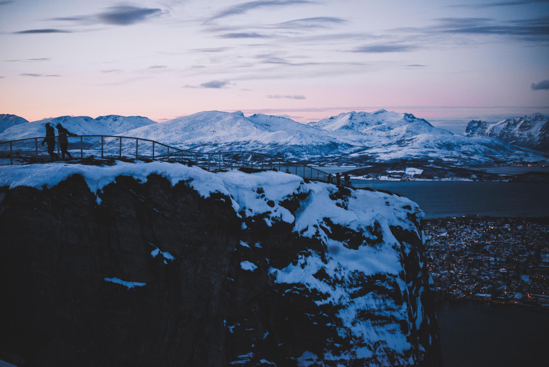 fjellheisen   widok z gory