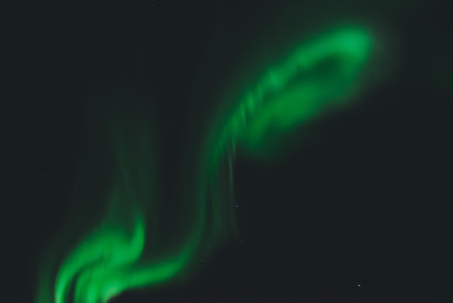 zorza polarna okolice tromso