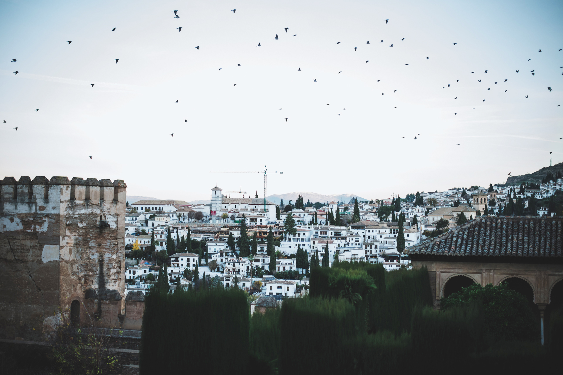 granada alhambra wstęp