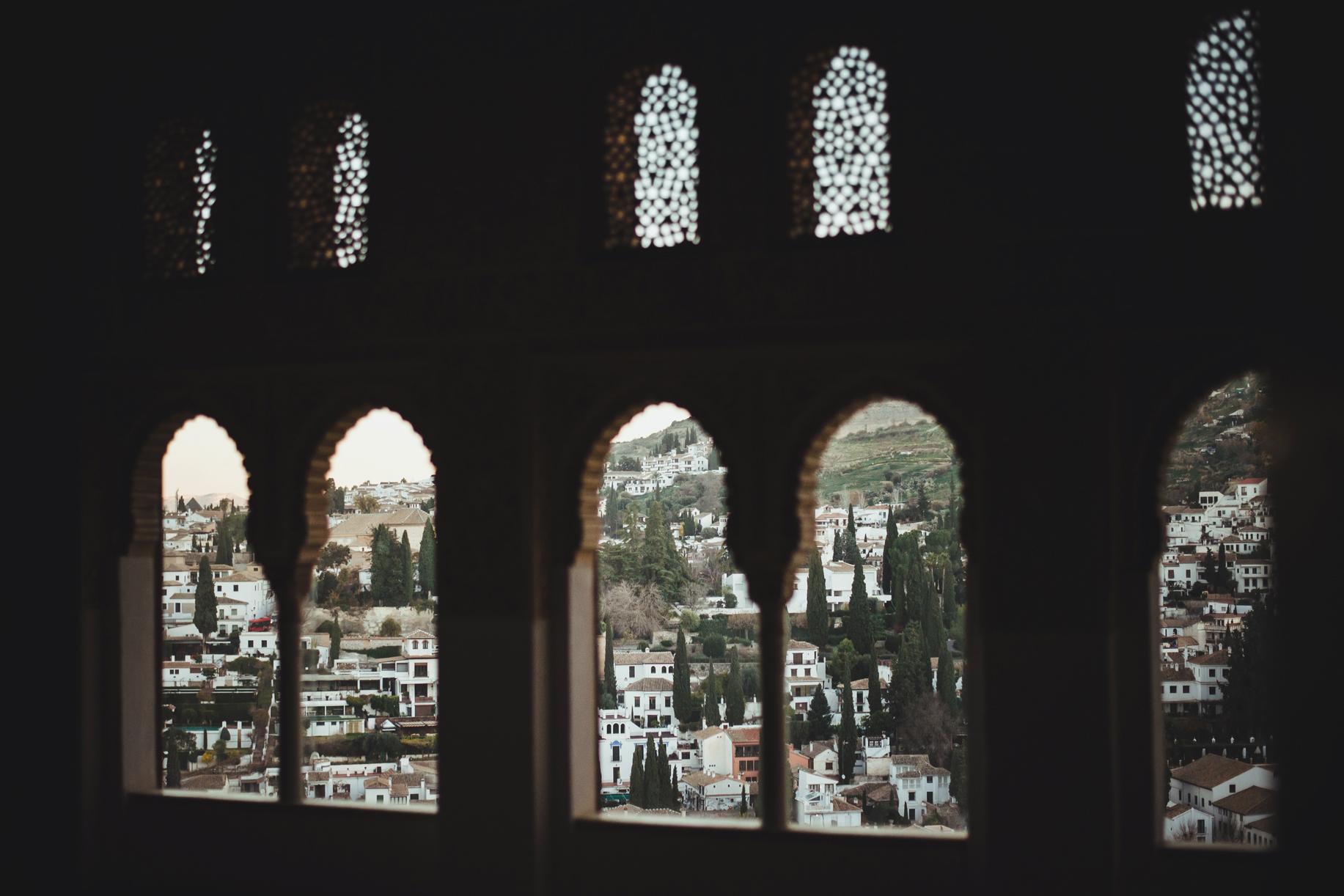 granada alhambra pałac nasrydów