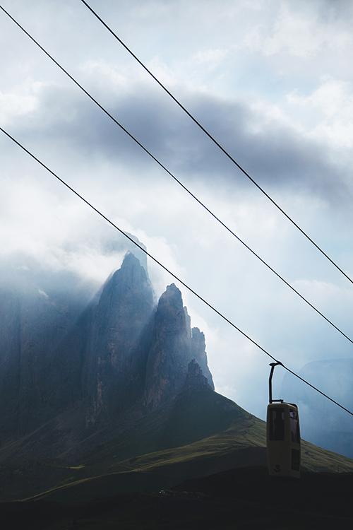 Dolomity Sassolungo