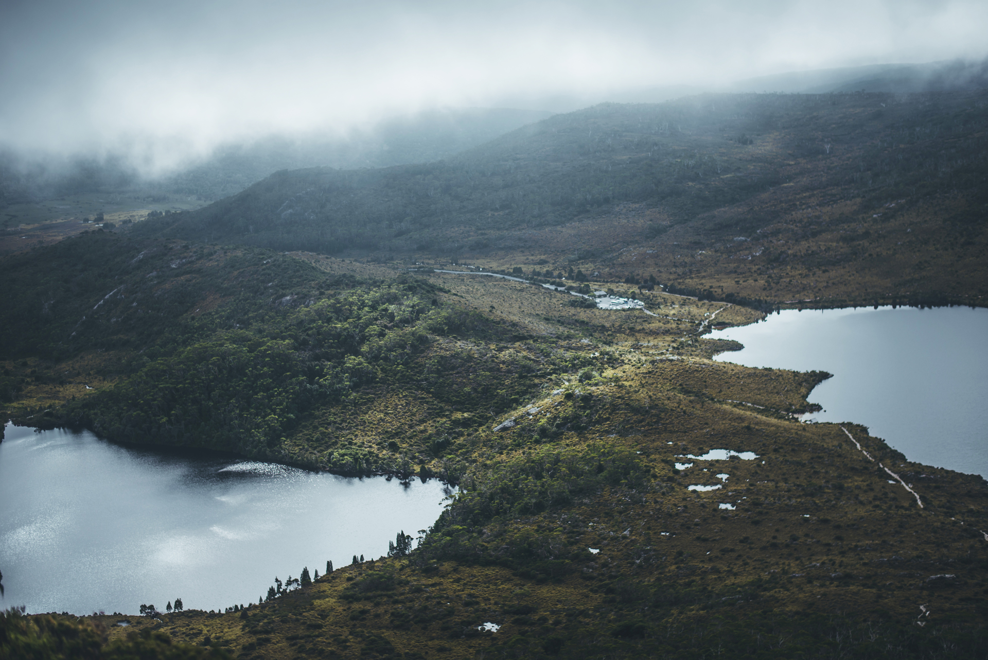 tasmania   dove lake