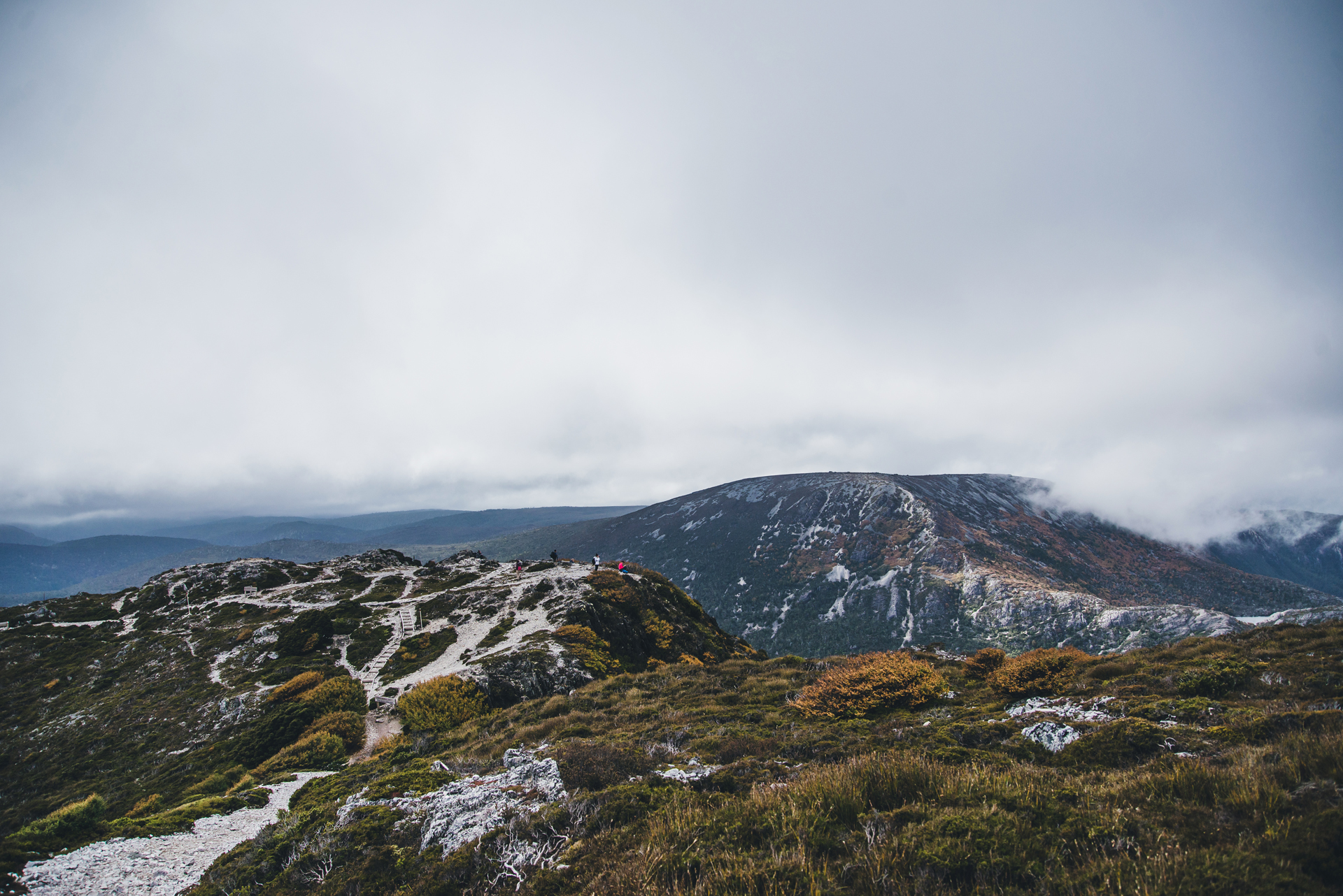 tasmania cradle mountain szlak