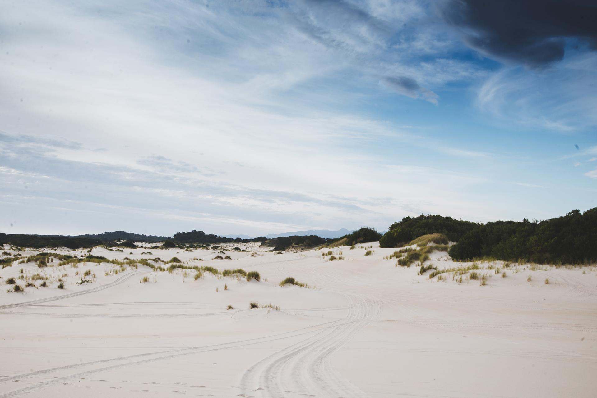 henty dunes na tasmanii