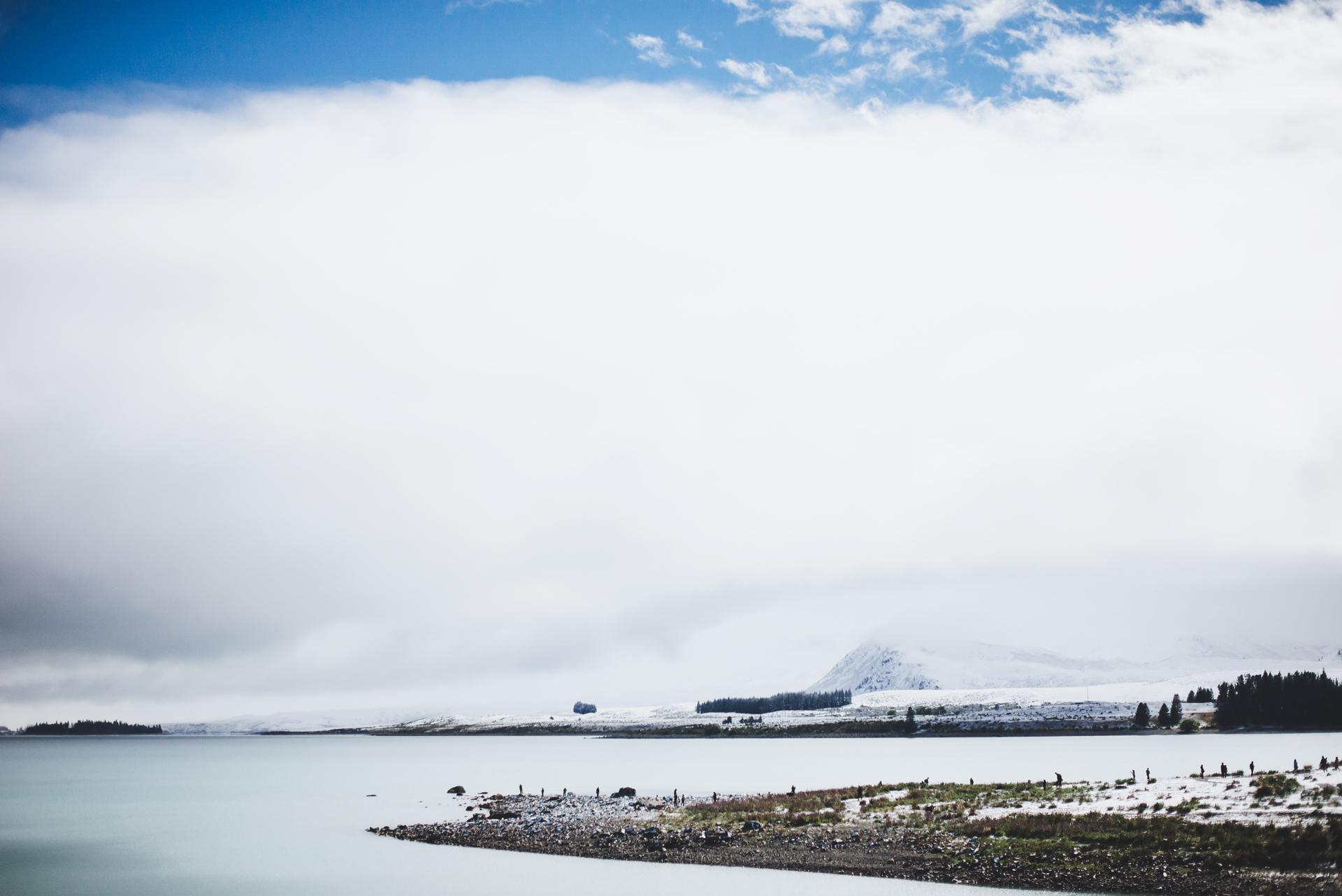 nowa zelandia jezioro tekapo