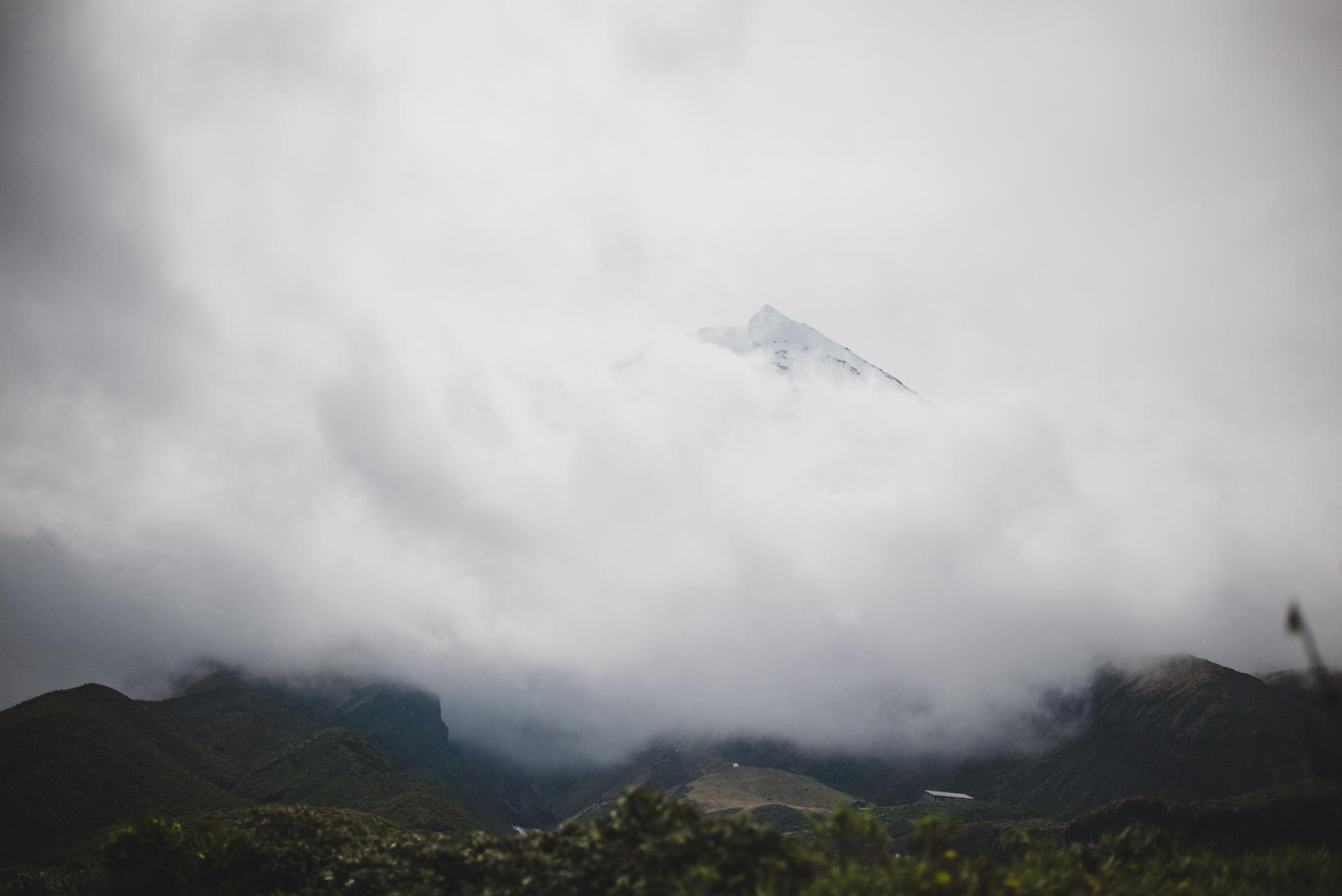 mt taranaki nowa zelandia