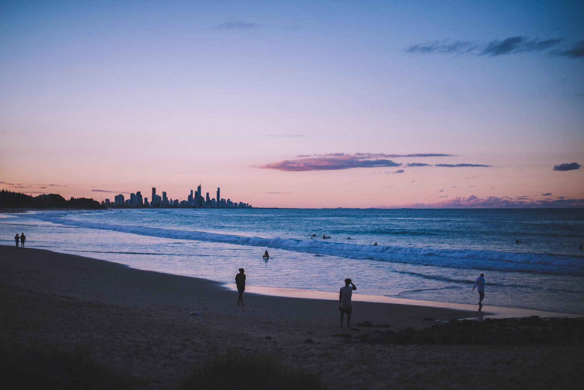 gold coast plaża