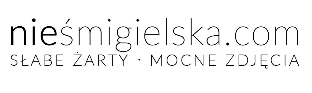 niesmigielska.com | blog, fotografia, podróże, suchary